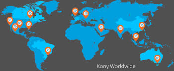 Bank Of America Locations Map by Locations Global Office Headquarters Address Kony