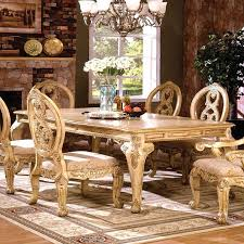 Dining Room Sets White Antique White Distressed Dining Room Chairs Set Sets Decor Style