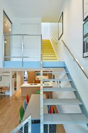 First Home Renovation Floating Staircase by Workac Founders Renovate Their Own New York Apartment Archpaper Com