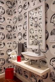 Wallpaper For Small Bathroom 24 Best Unique Bathrooms Images On Pinterest Bathroom Ideas