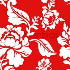 seamless pattern floral texture russian folk ornament