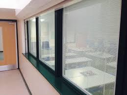 bgb installation gallery between glass blinds