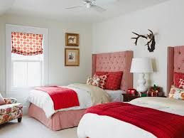 Gray And Red Bedroom by What Color Curtains Go Best With Red Walls Integralbook Com