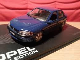 opel vectra b diecast opel vectra b modelcar opel collection 1 43 in blue owned