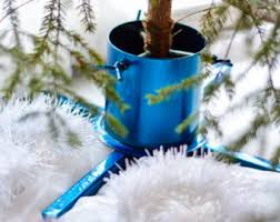Blue Christmas Tree Decorations by Christmas Tree Stand Etsy