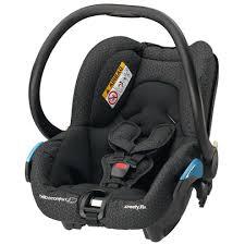 siege coque bébé streety fix black de bébé confort siège auto groupe 0