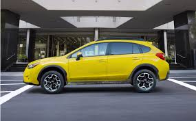 subaru crosstrek the only yellow subaru xv crosstrek on offer is limited to 1 000 units