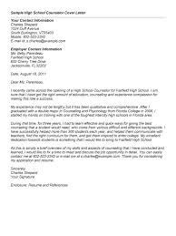 awesome collection of cover letter for counseling job with