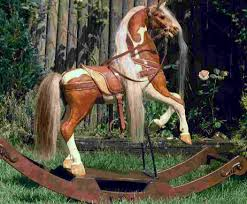Rocking Horse High Chair I Want To Buy An Antique Rocking Horse Rocking Horses Horse