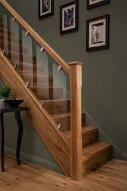 pictures of wood stairs staircases a wood idea oak glass glass stairs