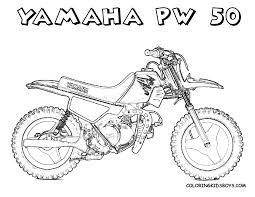 printable coloring pages dirt bikes