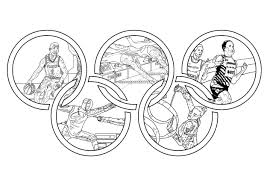 olympic games olympic and sport coloring pages for adults