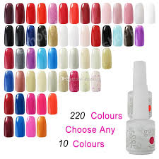 gel nail polish soak off ido gelish nail art uv led gel polish