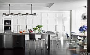 kitchen design in black and white