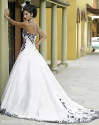 black and white wedding dress inspirational black and white wedding dress compilation on wow