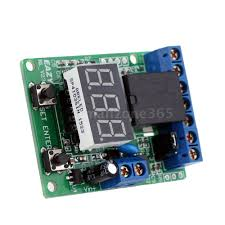 12v dc led relay plc cycle timer module delay time switch voltage