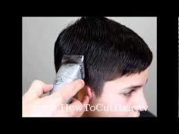 how to blend a lads a hair tapered haircut how to blend hair with clippers youtube
