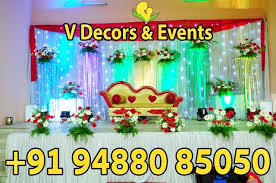 Marriage Decoration V Decors And Events September 2014