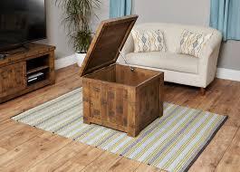 ruff sawn oak coffee table trunk hampshire furniture