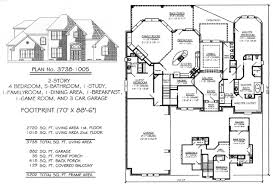 5 bedroom 4 bathroom house plans 4 bedroom 2 3601 4500 square