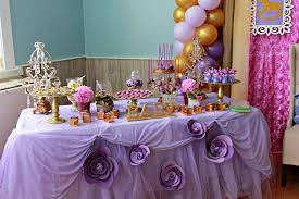 design lavender and gold baby shower bold modern purple