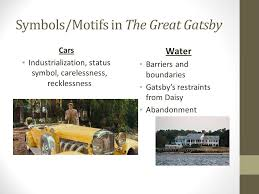 four symbols in the great gatsby f scott fitzgerald s the great gatsby ppt download