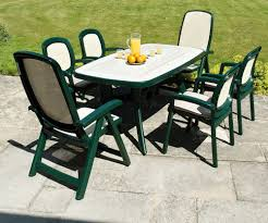 furniture design ideas green plastic patio furniture tables and