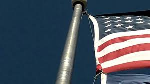 Flag Pole Winch Flagdesk Com Cable Subsituted As Halyard Does It Work On