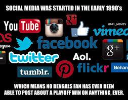 Social Media Meme - bengals social media meme sportige