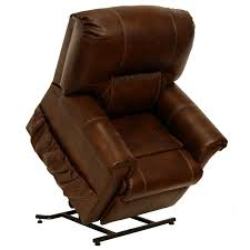 Vintage Recliner Chair Catnapper Vintage Leather Touch Power Lift Recliner Chair In