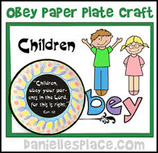 honor your father and mother coloring page obey bible crafts and bible games for children