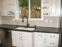 kitchen design ideas white glass subway tile kitchen backsplash