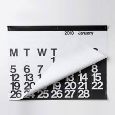 Modern Desk Calendar by Amazon Com 2018 Stendig Wall Calendar Office Products