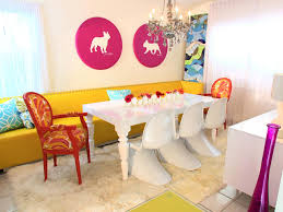 colorful dining room sets mexican style setscolorful modern