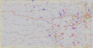 Kansas lakes images Kansas fishing map locator gif