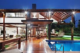 home design modern tropical indoor outdoor synergies modern tropical house idea dream home