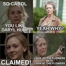 Carol Twd Meme - sir rex kantatero the walking dead meme beth carol