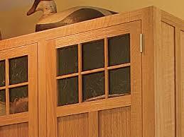 craftsman style kitchen cabinet doors craftsman style kitchen cabinets finewoodworking