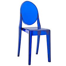 Blue Dining Chairs Throne Side Chair Brickell Collection Furniture