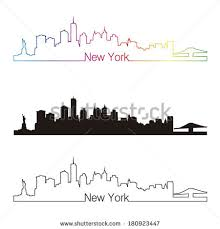 new york city skyline silhouette free vector download 10 307 free