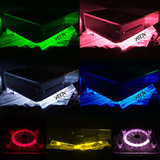 xbox one design rgb usb design cooler cooling fan pad ir remote controller stand