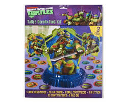 tmnt wrapping paper mutant turtles party supplies american greetings