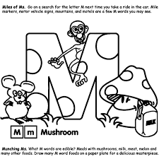 Alphabet M Coloring Page Crayola Com M Coloring Pages