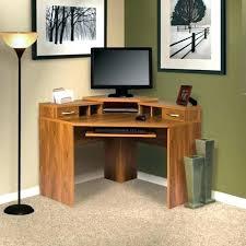 bureau d angle en bois massif bureau ordinateur d angle meuble informatique bois massif bureau