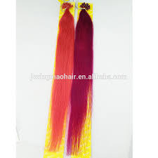 White Women Hair Extensions by Wholesale Fusion For White Women Blonde Human Hair Extension