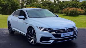 volkswagen arteon 2017 black used 2017 volkswagen arteon r line 2 0 tsi 190ps dsg for sale in