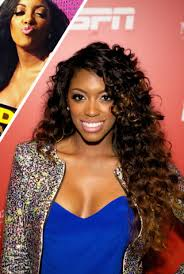 what type of hair does porsha stewart wear porsha williams gets naked on dish nation photo