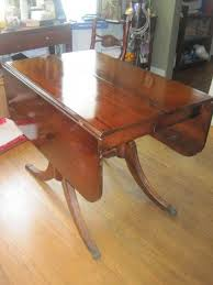 brandt furniture of character drop leaf table brandt mahogany drop leaf claw foot table antique appraisal