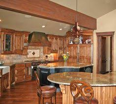 Rustic Kitchen Cabinets Are Crafted Using Many Different Species - Southwest kitchen cabinets
