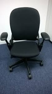 furniture fascinating black steelcase leap chair picture